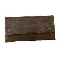 Leather Box Pouch - Large