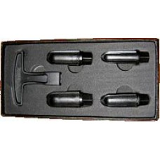 Brebbia Pipe Reamer Set