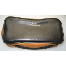 Leather 2-Pipe Black/Tan