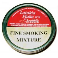 Brebbia Latakia Flake 50g tin